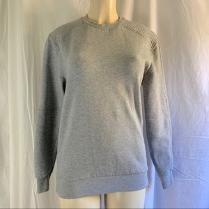 Divided H&M gray sweatshirt zippers Size small